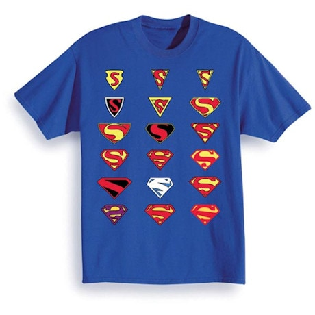 Superman Icon History T-Shirt