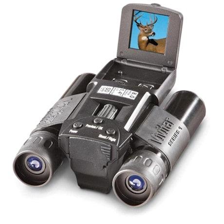 8 MP Digi Cam Binoculars with Shoulder Strap & USB Cable