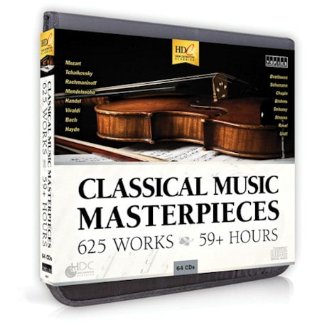 Classical Music Masterpieces CD Set