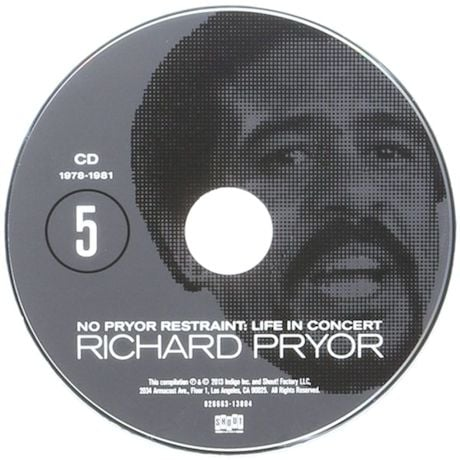 No Pryor Restraint: Life In Concert Set