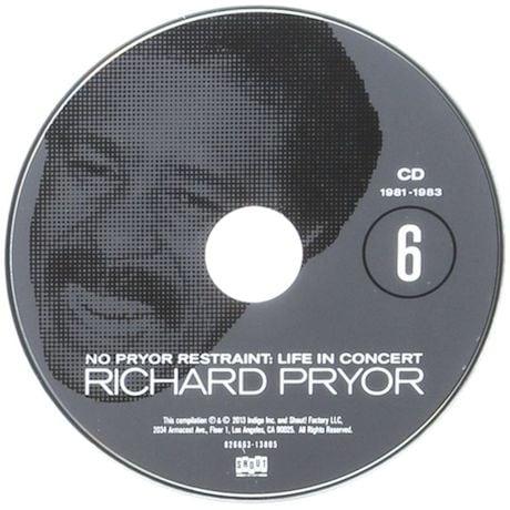 No Pryor Restraint: Life In Concert Set