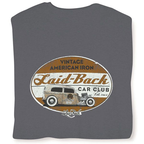 Laid Back Tshirts - Car Club