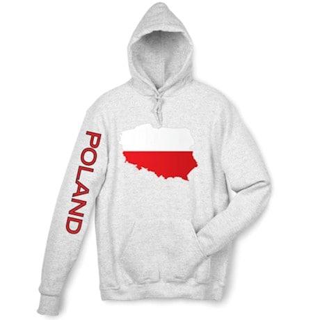International Graphics Hooded Sweatshirt - Poland