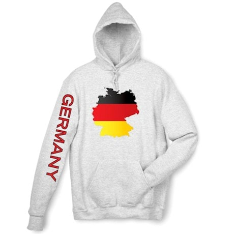 International Graphics Hooded Sweatshirt - Germany