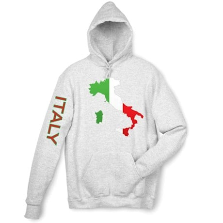 International Graphics Hooded Sweatshirt - Italy