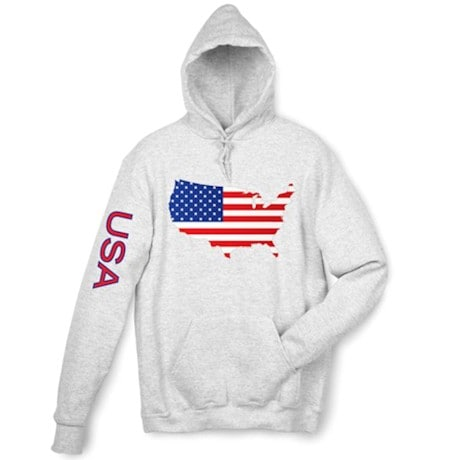 International Graphics Hooded Sweatshirt - Usa