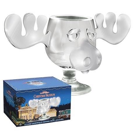 National Lampoon's Christmas Vacation Moose Mug with Antlers