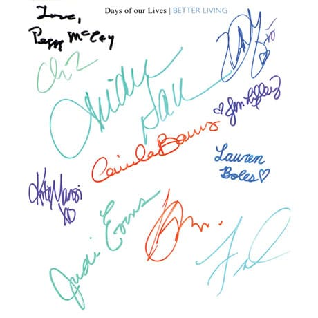 Days Of Our Lives Better Living - Signed Autographed Book
