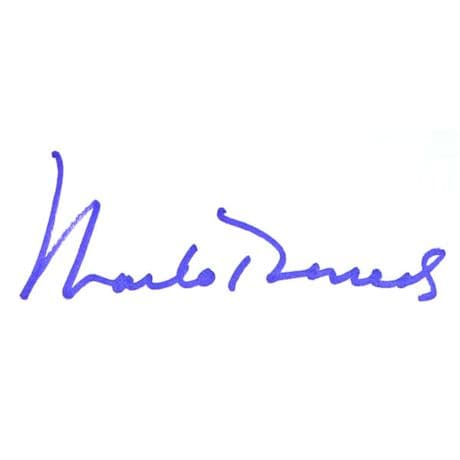 Marlo Thomas: It Ain't Over- Signed