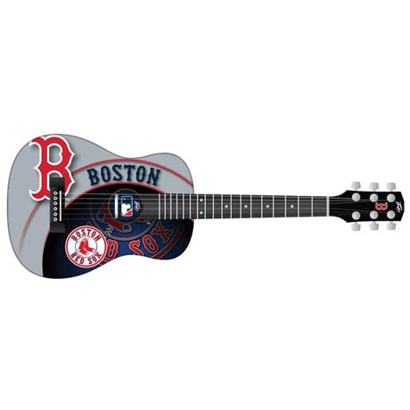 Peavey MLB Acoustic Guitar Half-Scale with Team Graphic Design