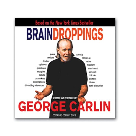 Brain Droppings CD by George Carlin