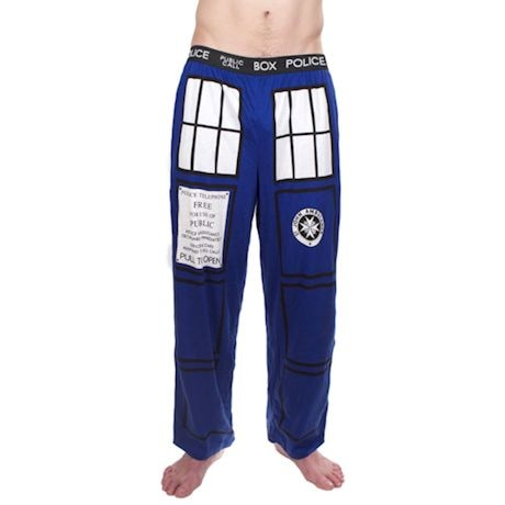 Doctor Who I Am Tardis Pajama Lounge Pants