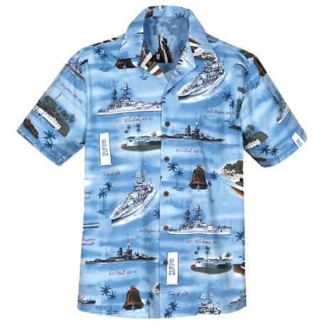WWII Camp Shirts - Blue