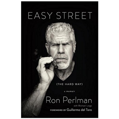 Easy Street Signed Book by Ron Perlman - Autographed Bookplate