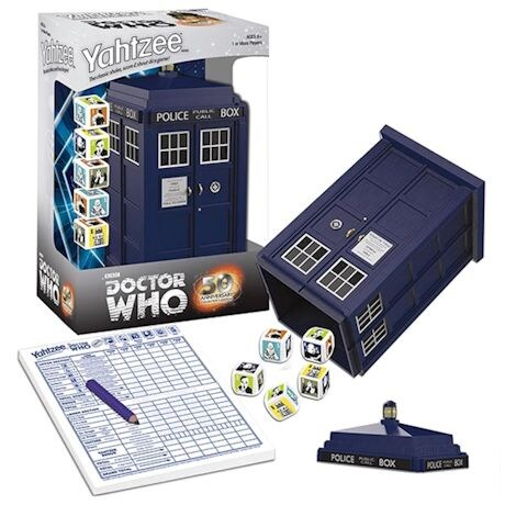 Official Doctor Who Yahtzee