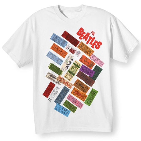 The Beatles Tickets T-Shirt