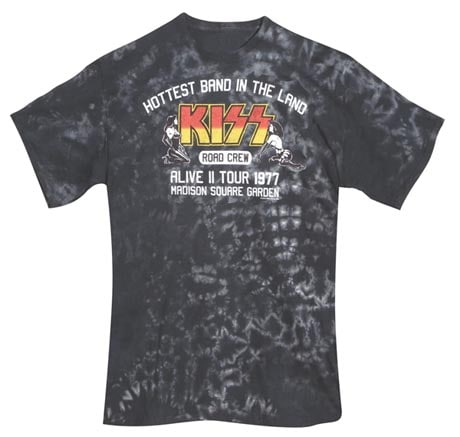 Kiss Tour T-Shirts - Alive Ii Tour 1977