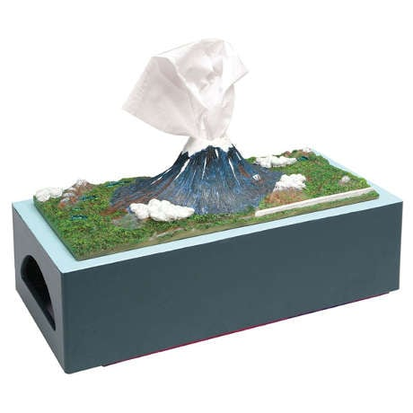 Mount Fuji Tissue Box