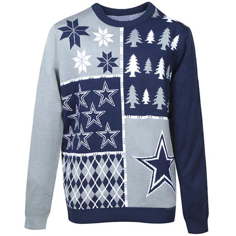 Pro Sports Ugly Christmas Sweaters- NFL