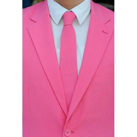 Mr. Pink Suit & Tie Two Piece Suit