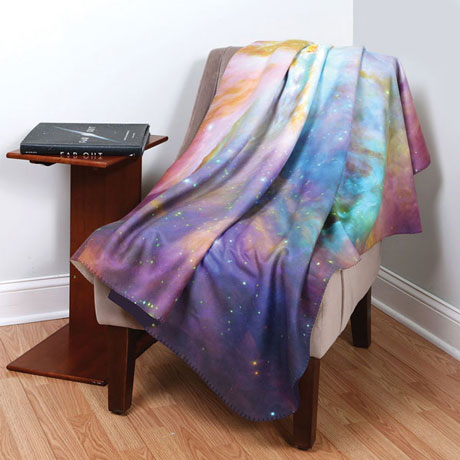 Hubble Nebula Throw - Purple Galaxy