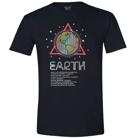 Planet Earth T-Shirt with Scienctific Facts