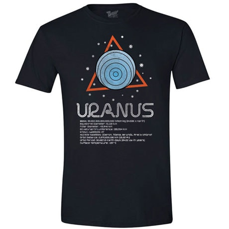 Planet Uranus T-Shirt with Scientific Facts