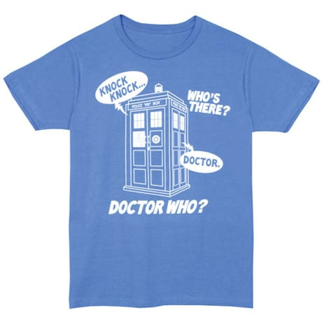 Doctor Who Knock Knock T Shirt