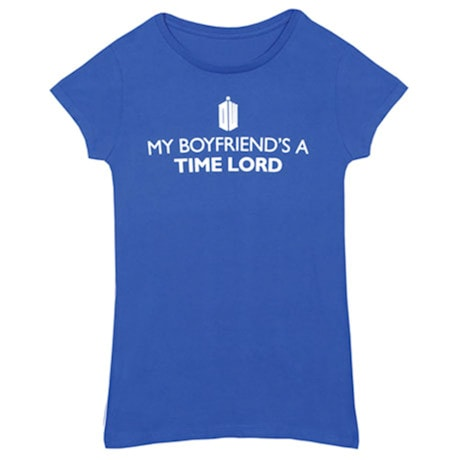 Boyfriend Time Lord Juniors Tee