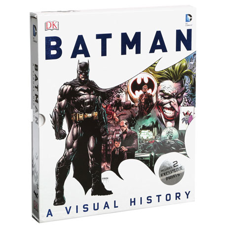 Batman: A Visual History Dc Comics