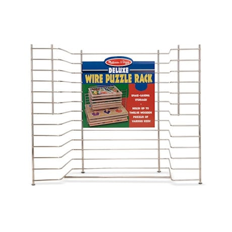 Deluxe Wire Melissa and Doug Puzzle Rack