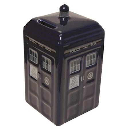 Doctor Who Money Bank TARDIS Ceramic