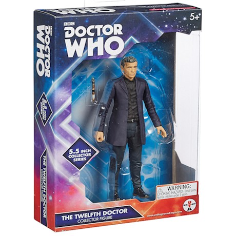 Doctor Who 5.0 inch Action Figure 12th Doctor (Black Shirt)