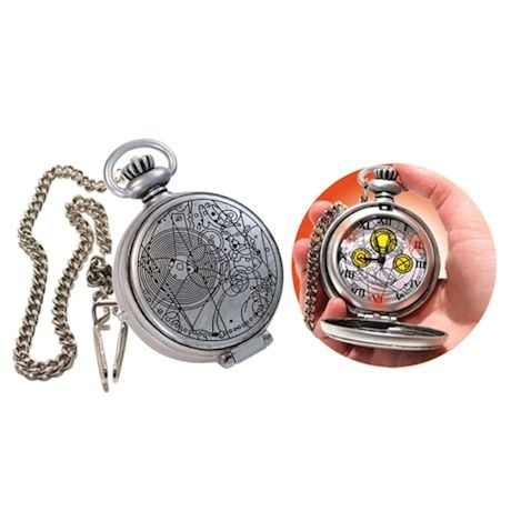 Doctor Who Pocket Watch 10Th Doctor Fob