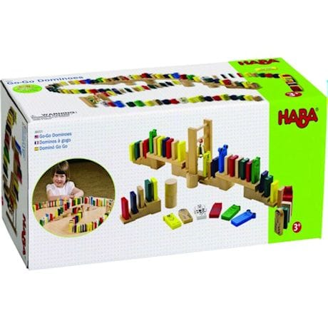 Haba Go-Go Dominoes Activity Toy Set