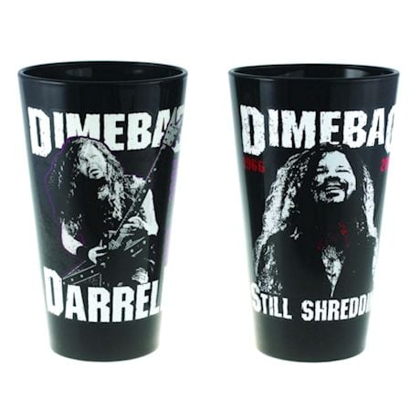Dimebag Darrell Commemorative Glass Pint Set Of 2