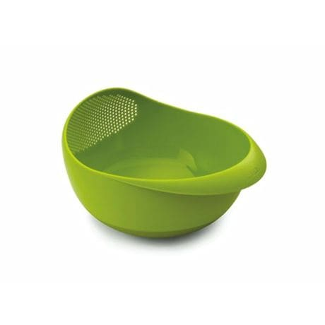 Joseph Joseph Brand Prep & Serve Large Bowl With Integrated Colander Green