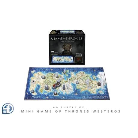 Game of Thrones Puzzles - Mini Westeros