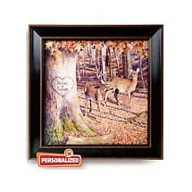 Personalized Whitetail Sunrise Print