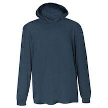 Navy Hooded T-Shirt