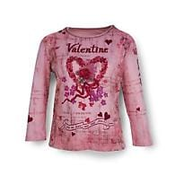 VALENTINE ¾ SLEEVE TOP