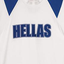 Greece (Hellas) Raglan Sleeve Shirt