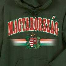International Hooded Sweatshirt - Hungary