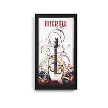 Personalized Guitar Framed Print