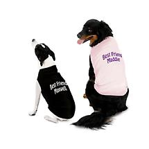 Best Friend (Your Choice Of Name Goes Here) Pink Dog Shirt