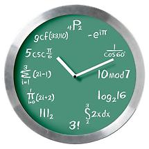 Math Clock with Mathematical Expressions