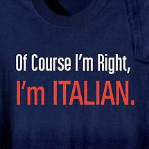Personalized Of Course I'm Right, I'm (Your Choice Of Word Here) Short-Sleeve Shirt