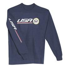 International Pride Long Sleeve Shirt - USA