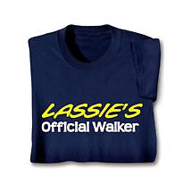Personalized [Pet's Name] Official Walker Shirt