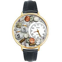 Whimsical Career Watch - Banker